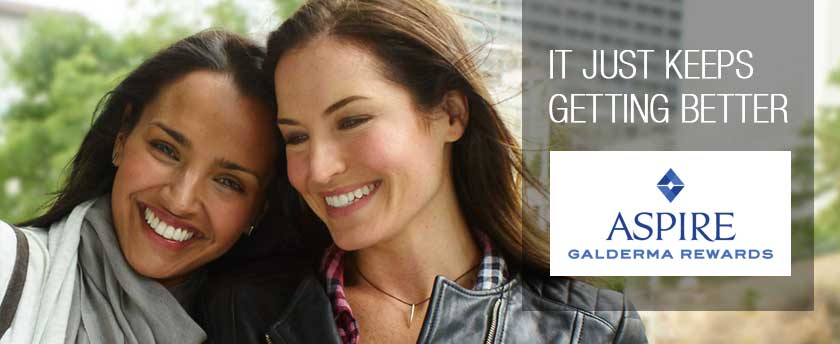 Galderma Aspire loyalty rewards points